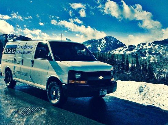 Door 2 Door Ski and Snowboard Rental Delivery