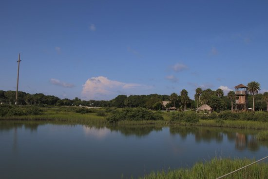 Fountain of Youth Archaeological Park: Photo of the grounds from the pier