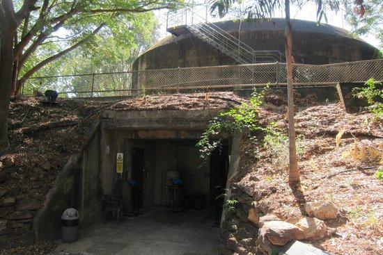 Defence of Darwin Experience: Bunker underneath coastal artillery battery