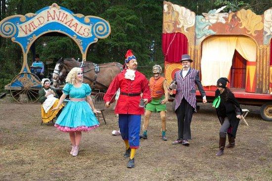 Caravan Farm Theatre : Summer show cast