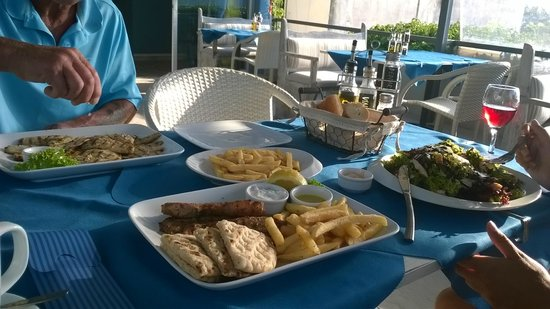 Edesma Grill Restaurant: Delicious dishes