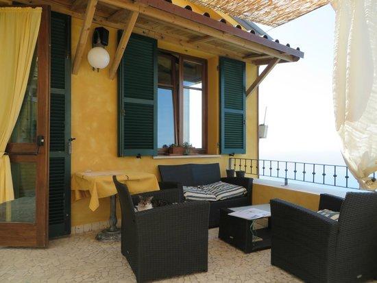 Il Borgo di Campi: Restaurant außen