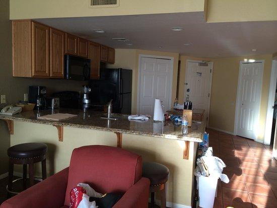 Wyndham Sedona : Kitchen area with dishwasher