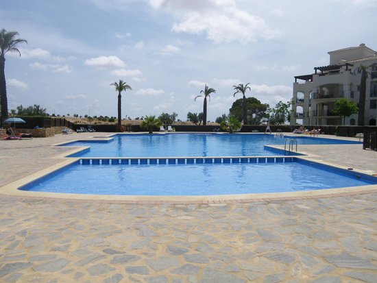 Hacienda Riquelme Golf Resort: Nearest pool