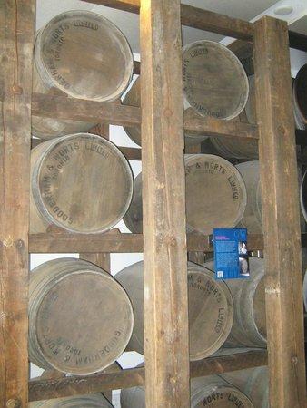 Distillery Historic District: More barrells