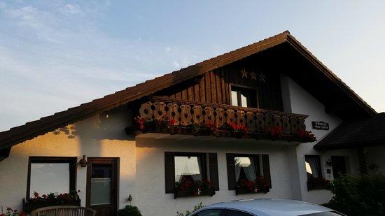 Landhaus Florian: Back of the Hause Florian