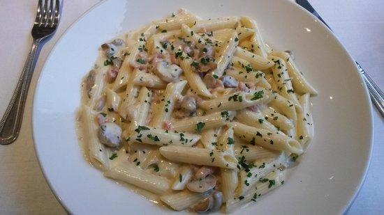 Britannia Waterside Hotel: this pasta was beautiful