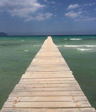 IBEROSTAR Albufera Playa : Beach Jetty