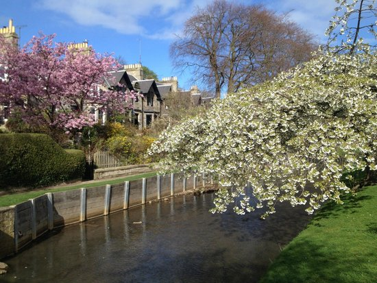 Doune Guest House: River View (Side of Lade Braes Walk, 10 Mins walk to the starting point of the nice walk)