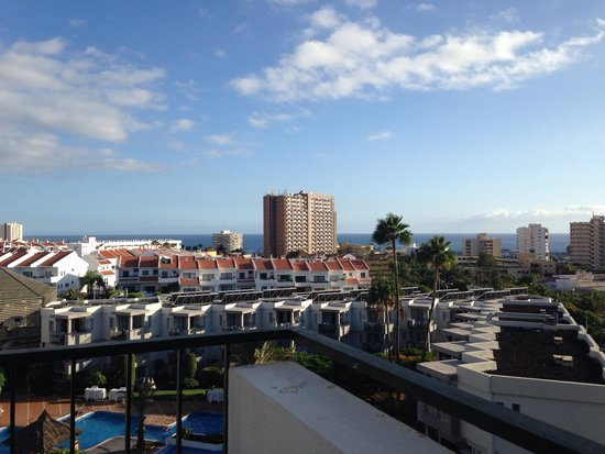 HG Tenerife Sur Apartments : View from hotel room