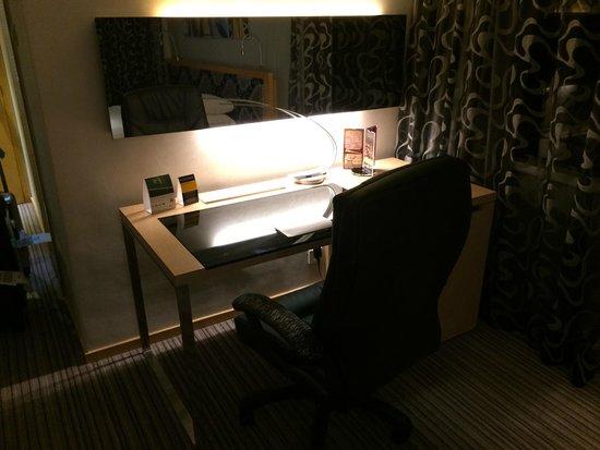 Kew Green Hotel Wanchai Hong Kong: ビジネスデスク