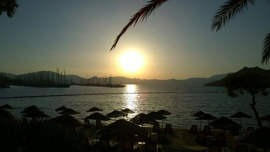 Sensimar Marmaris Imperial: Sunset!