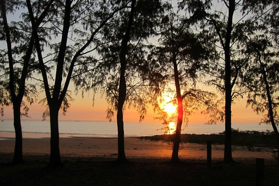 Sunset from next to Mindil Beach