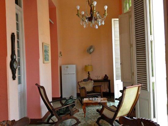Casa Particular Raquel: Salón, terraza