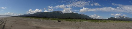Lake Clark National Park and Preserve, AK: The beach at Silver Salmon.