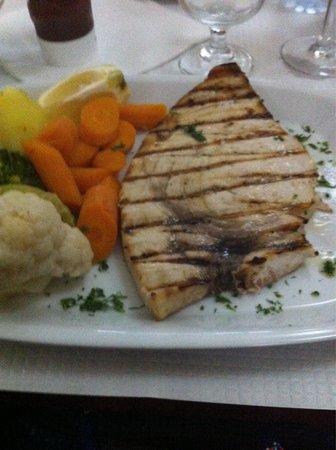 Restaurante O Manjar: Swordfish July 2014