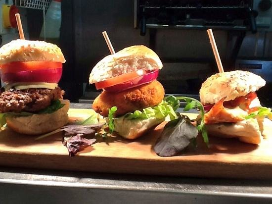 Tasty Mini Burgers At No 1 Kitchen Picture Of No1 Kitchen