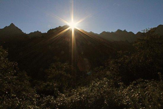 Belmond Sanctuary Lodge: Day break at Machu Picchu
