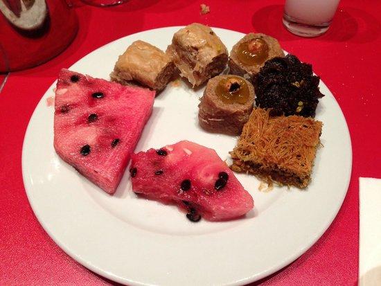 Hotel SU: пахлава очень вкусная
