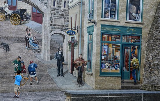 Quebec Experience: Great 3-D Graffiti!