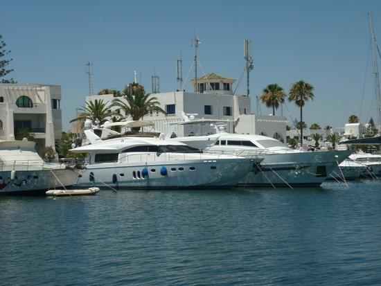 Riadh Palms Hotel: Marina Location -  Port El Kentoui