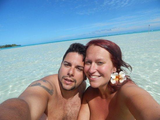 Bora Bora Pearl Beach Resort & Spa : Acqua cristallina