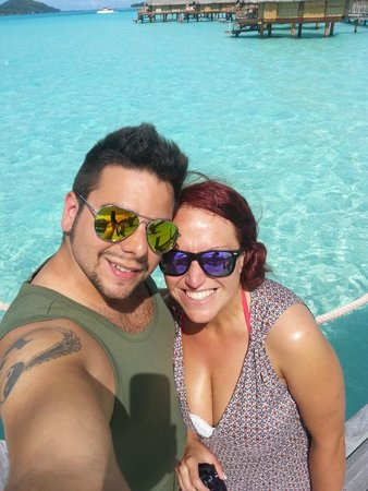 Bora Bora Pearl Beach Resort & Spa : Arrivo al Pearl Beach Resort & Spa