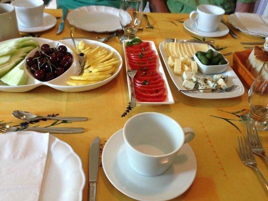 Via Veneto: First Course at Breakfast!  Delicious!