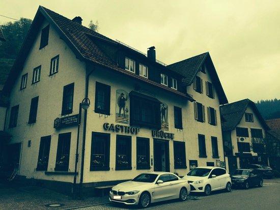 Zur Alten Brucke: Evening in Schiltach
