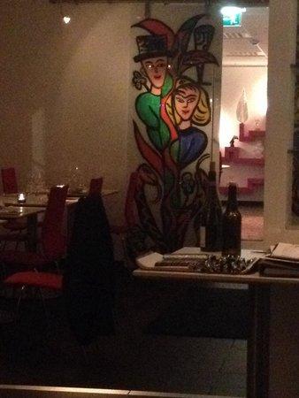 Linnea Art Restaurant: Interior