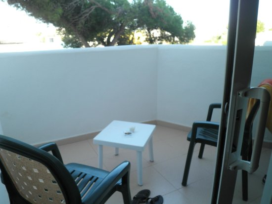 Hotel Marina Corfu: La terrasse de la chambre