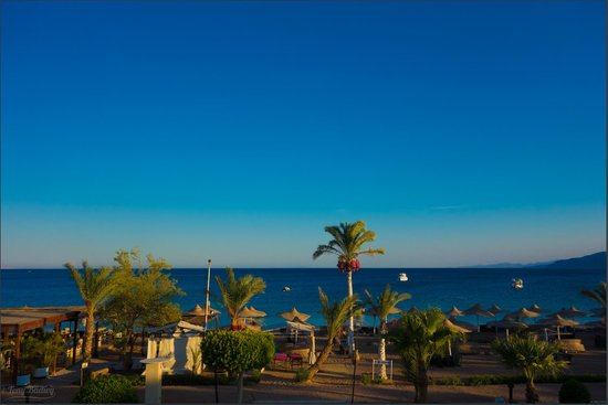 Ganet Sinai Hotel: has it's own Beach