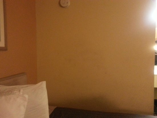 Travelodge Savannah Area/Richmond Hill : stains on wall