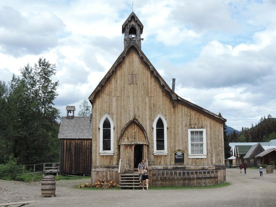 Barkerville Historic Town: St. Saviour's Church