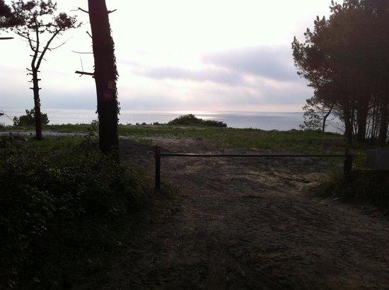 La Co(o)rniche : Il tramonto dal Ristorante