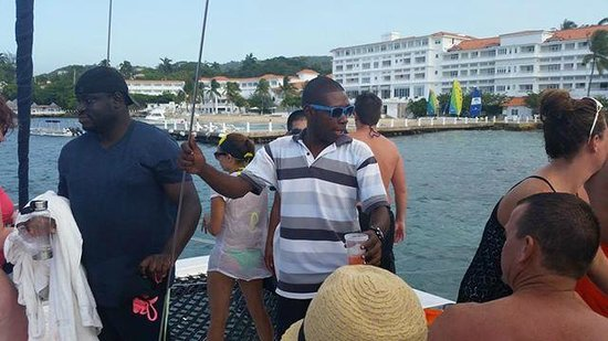 Couples Tower Isle: catamaran cruise