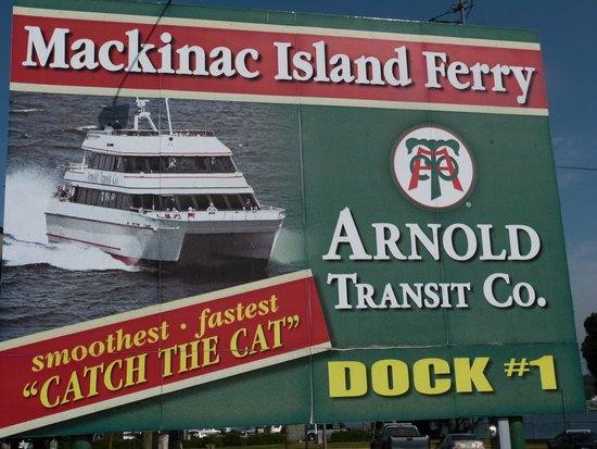 Arnold Transit Company - Arnold Mackinac Island Ferry: false advertising