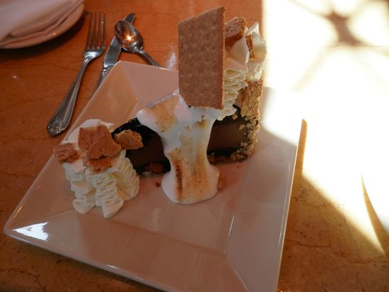 The Cheesecake Factory: Toasted Marshmallow Smores Cheesecake