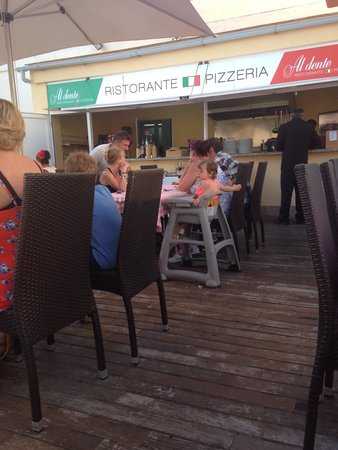 Hotel Marina Torrenova: A la carte restaurant in the hotel which is FREE one night. Located near the pool, gorgeous!!