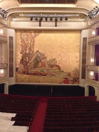 Staatsoper: from the imperial box