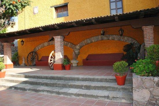 Hotel Real de Minas: Lindos escenarios para relajarse