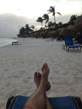 Divi Village Golf and Beach Resort: sunset