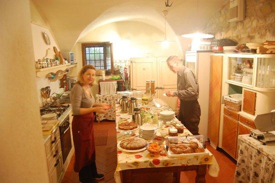 Borgo Lecchi B&B : Breakfast!