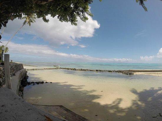 Hotel Hibiscus : la plage