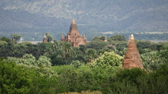 Amazing Bagan Resort: View from our room