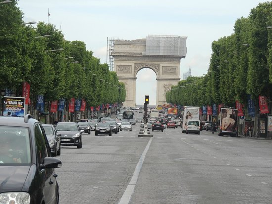 Champs-Elysees: Arco do Triunfo