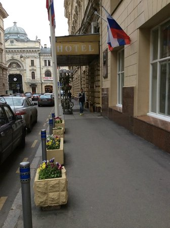 Budapest Hotel : Street view
