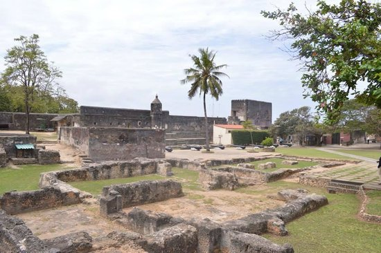 Fort Jesus Museum: Fort Jesus Interior