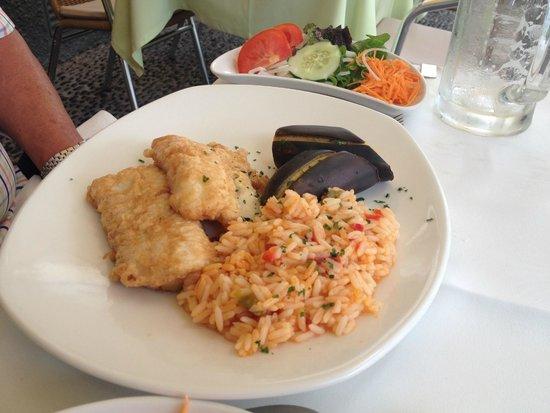 O Regional Restaurante : Espada, Banana and Risotto