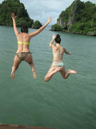 La Moet Phuket: Jumping off